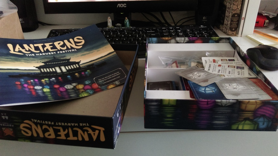 Game box and contents