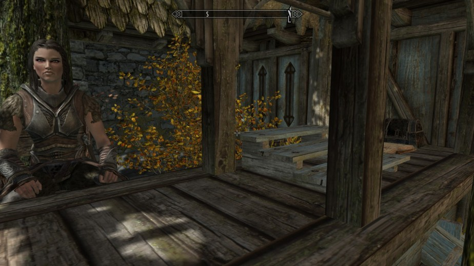 Thanks to a mod I found on Steam, I am now able to open a merhant stall in any major city of Skyrim, where to sell my excess loot.